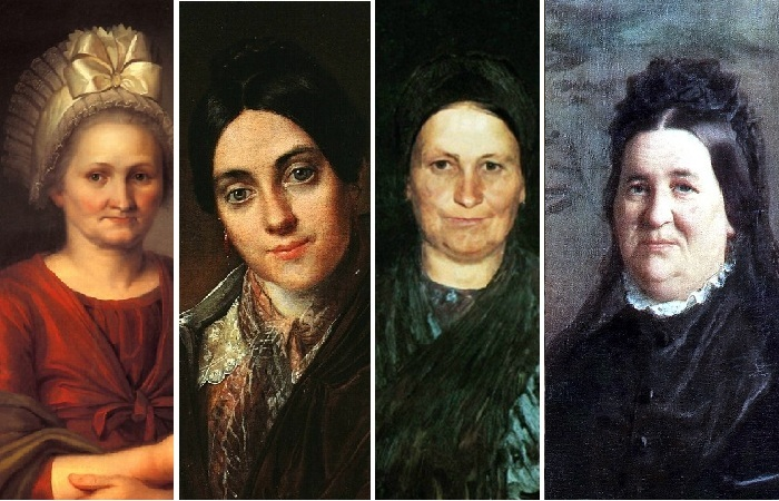 Матери великих и знаменитых художников.