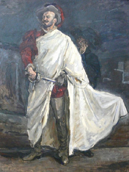 Певец Франсиско д'Андраде в образе дона Жуана. Автор: Макс Слефогт. ¦ Фото: wikipedia.org.