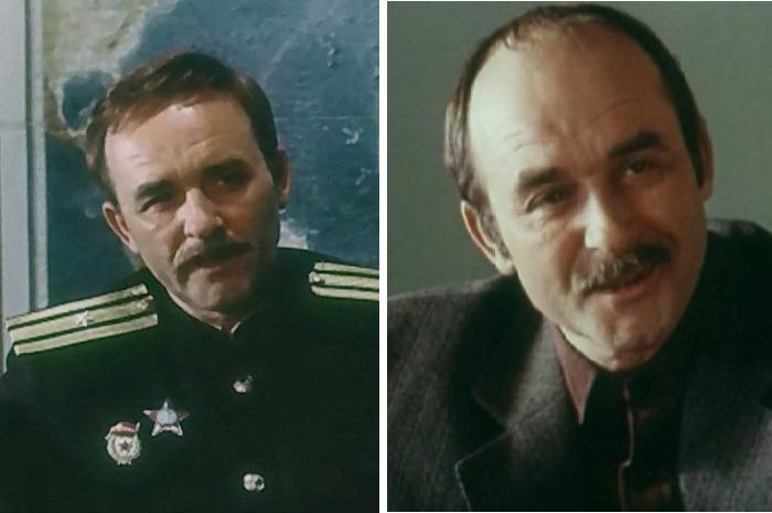 Владимир Наумцев в роли начальник разведки базы Селиванова.