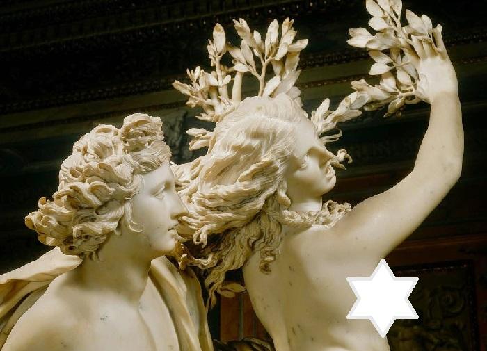 Аполлон и Дафна. Фрагмент. (1622–1625). Скульптор: Лоренцо Бернини.
