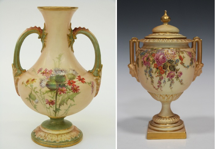 Антикварный фарфор от Royal Worcester.