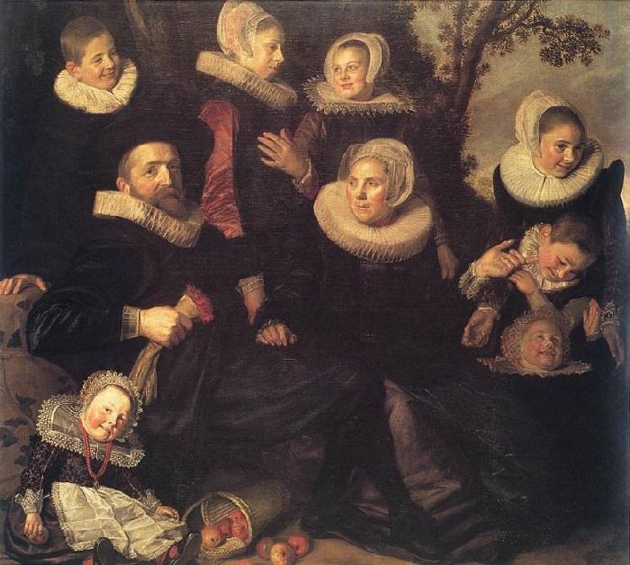 Семейный портрет в пейзаже. (1620 год.) Автор: Франс Хальс.