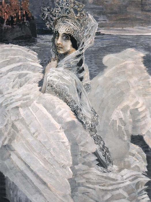 «Царевна-Лебедь». Автор: Михаил Врубель.