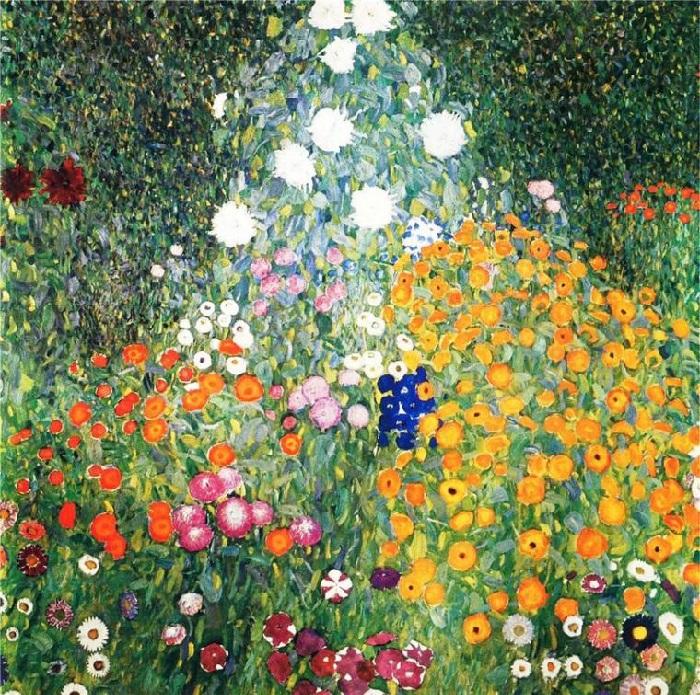 Цветущий сад. (1905-1907гг). Автор: Gustav Klimt.