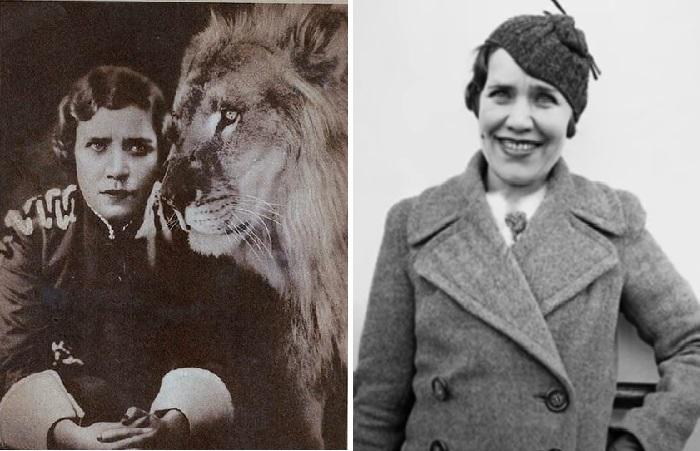 Матрёна Распутина - артистка цирка, укротительница львов и тигров.