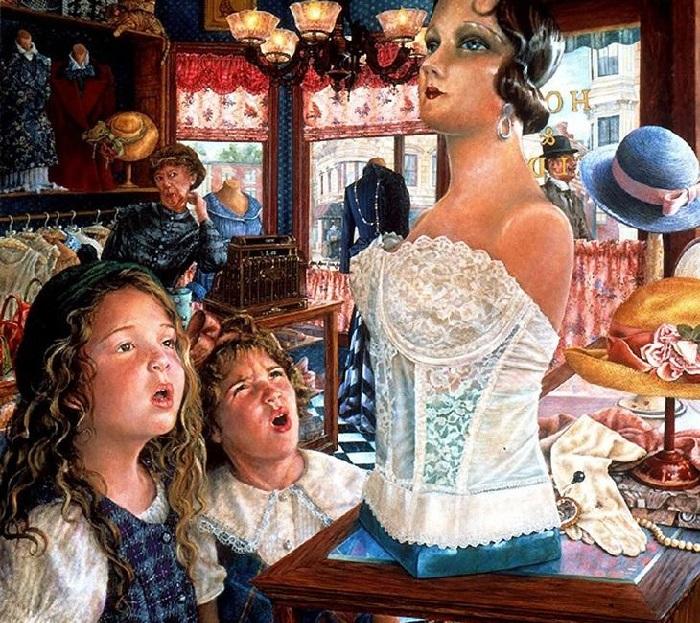 Юные модницы. Истории от Сьюзан Брабо.