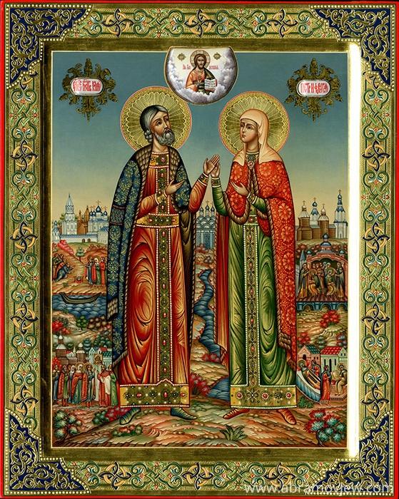Палехская иконография.