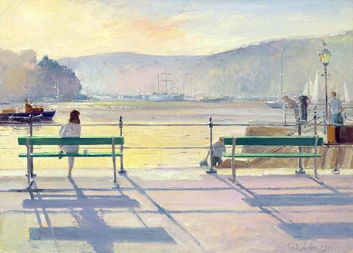 Вид на гавань (Harbour View). Художник: Timothy Easton.