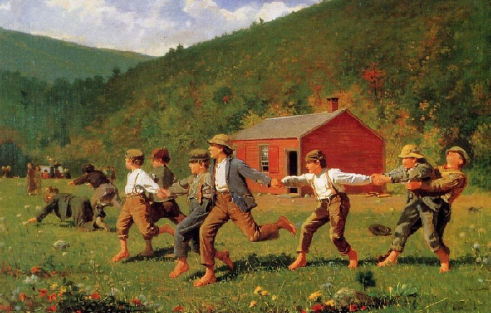Уинслоу Гомер (1836–1910). Америка. «Хлыст». 1872 год.