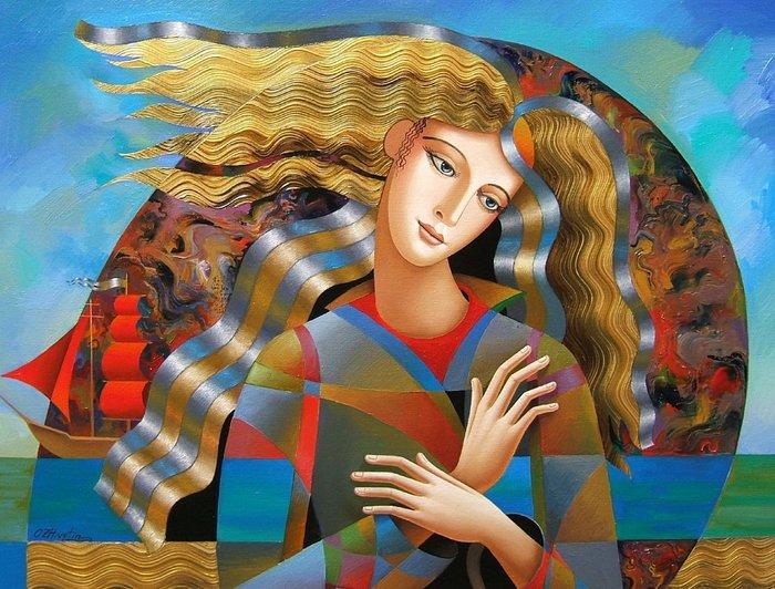 Уникальная живопись от художника Олега Живетина.