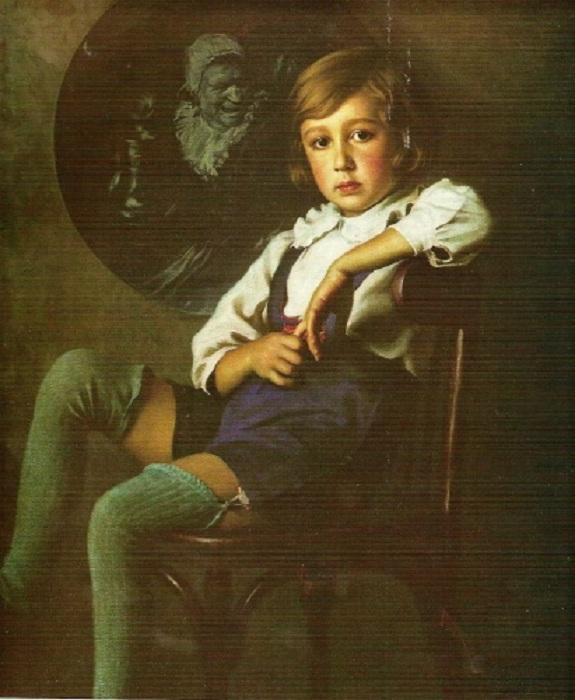 Портрет Вани Лактионова. Автор: Александр Лактионов.