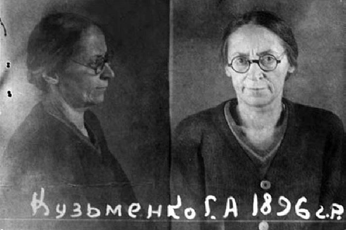 Галина Кузьменко в заключении.