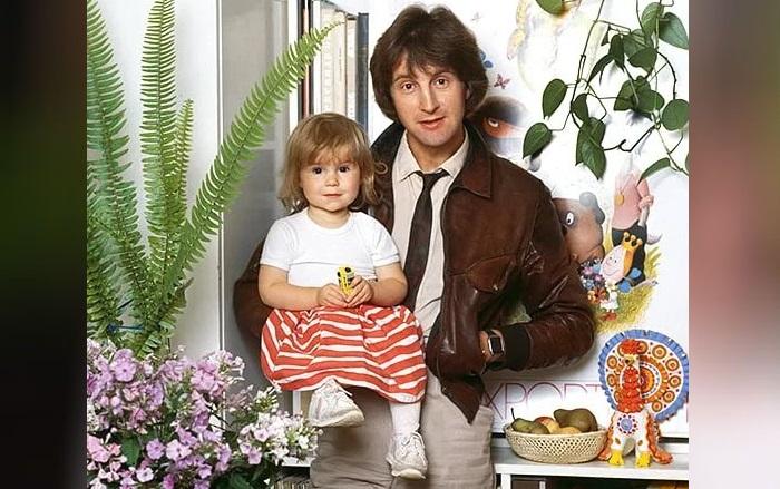 Леонид Ярмольник с дочерью Александрой.