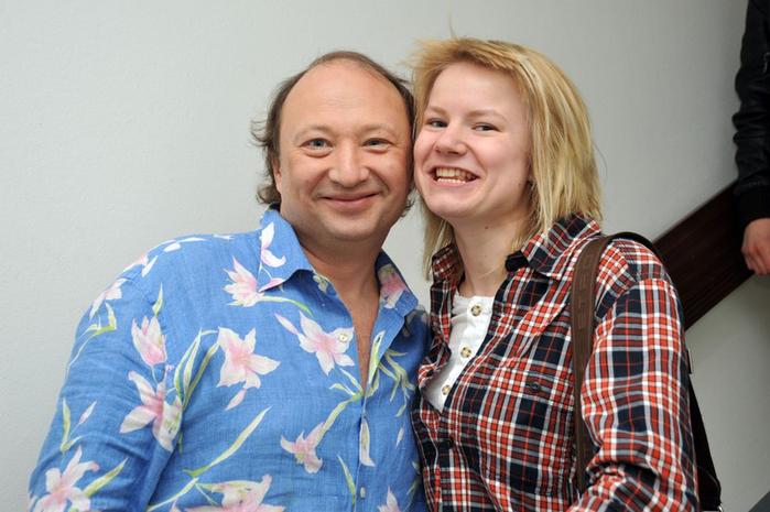 Юрий Гальцев с дочерью Машей.