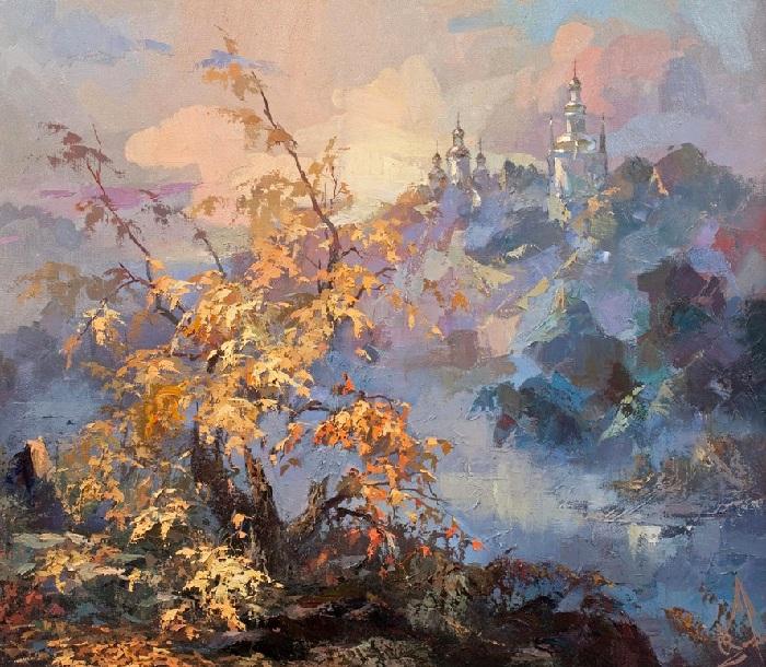 «Осень. Туман». Автор: Юрий Козяр.