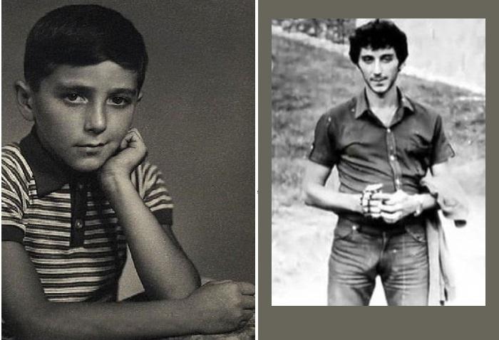 Григорий Лепсверидзе в подростковые и юные годы.