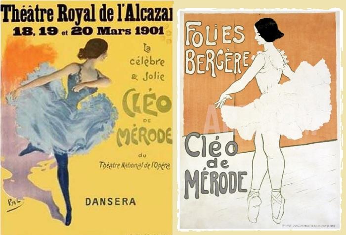 Рекламные плакаты «Мулен Ружа» Анри де Тулуз-Лотрека.