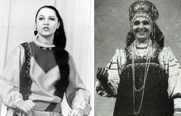 Надежда Бабкина в начале творческой карьеры.