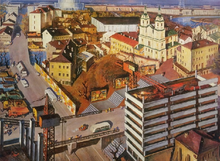 «Мой город древний, молодой». (1972 год). Автор: Май Данцинг.