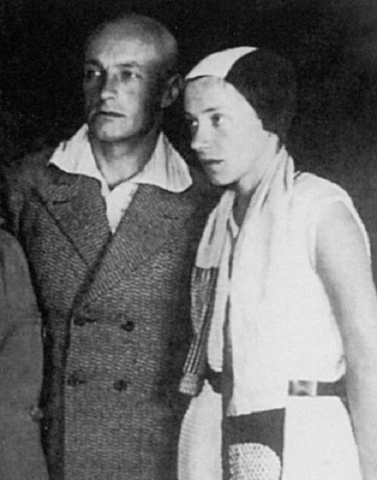Катерина Кобро и Владислав Стржеминский.