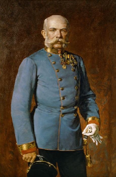 Портрет императора Франца-Иосифа. Автор: Юлиус фон Блаас.