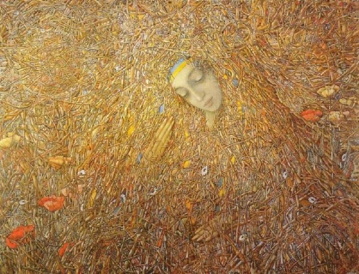 Пробуждение. 1992 год. Автор: Иван Марчук.
