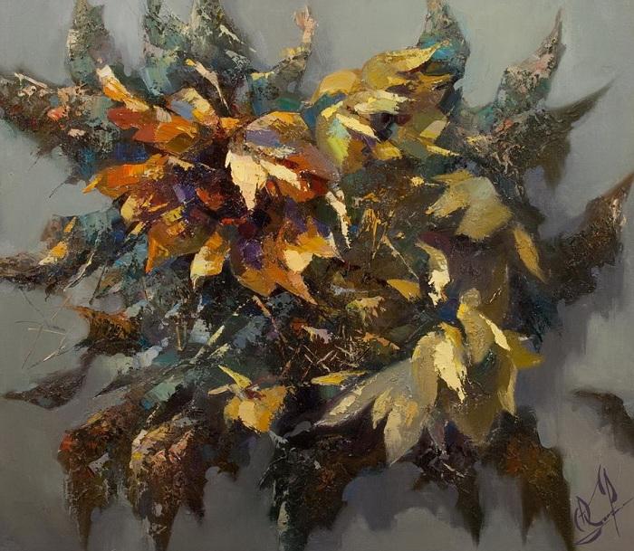 «Солнечные цветы». Автор: Валентина Козяр.
