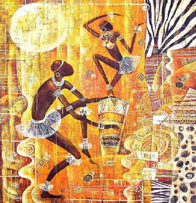 Африканские этнические мотивы от Наталии Шатровой.