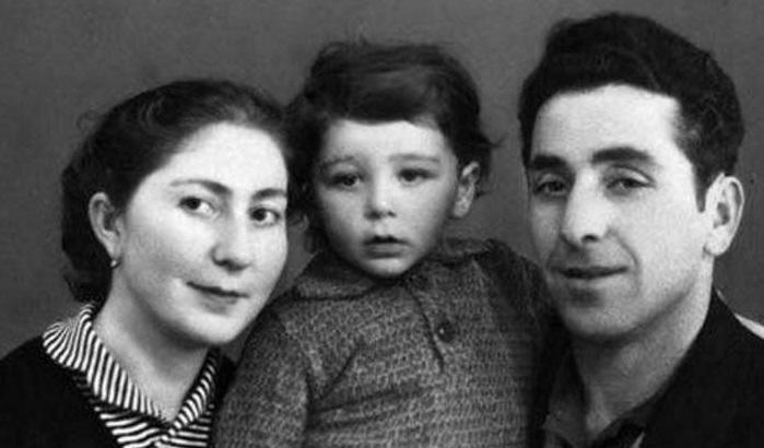 Гриша Лепсверидзе с родителями Виктором Антоновичем и Натэллой Семёновной.