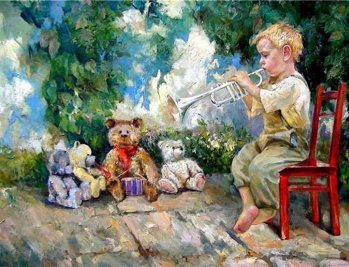 Концерт. Из цикла «Мир детства» Инессы Морозовой.