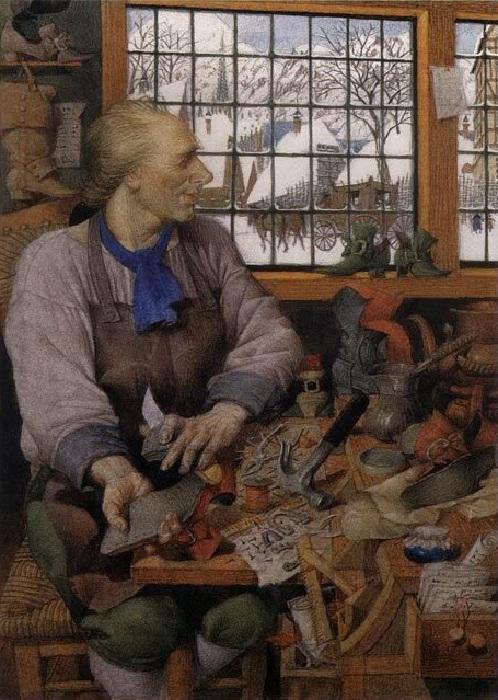 «Яков и семеро разбойников». Иллюстрации от Геннадия Спирина.
