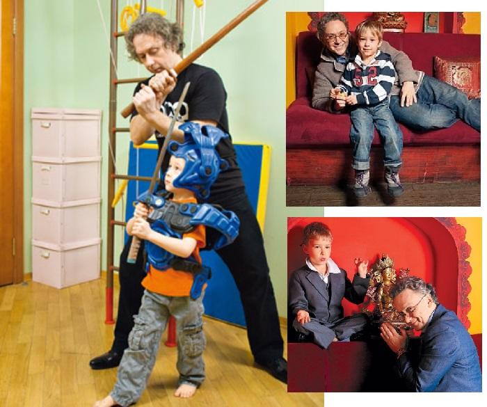 Вадим Демчог с сыном Вильямом. | Фото: 7days.ru / lichnosti.net.