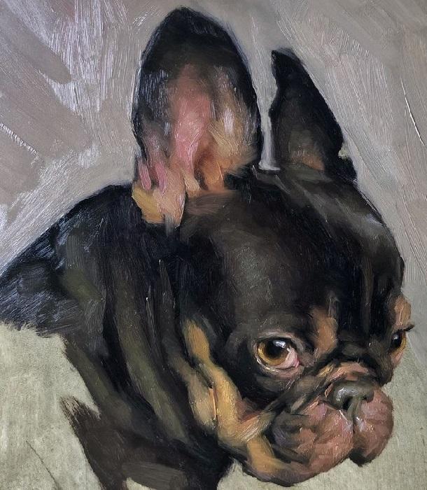 Портретная живопись Jennifer Gennari.