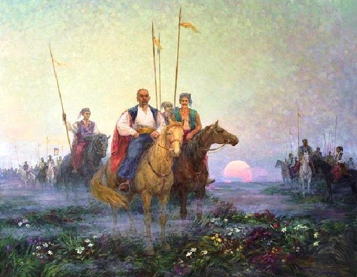 Войско запорожское.