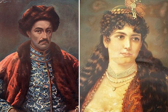 Иван Мазепа и Матрена Кочубей.