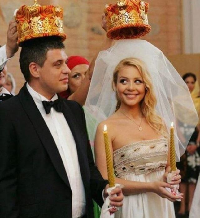 Венчание Тины Кароль и Евгения Огира в Киево-Печерской лавре.