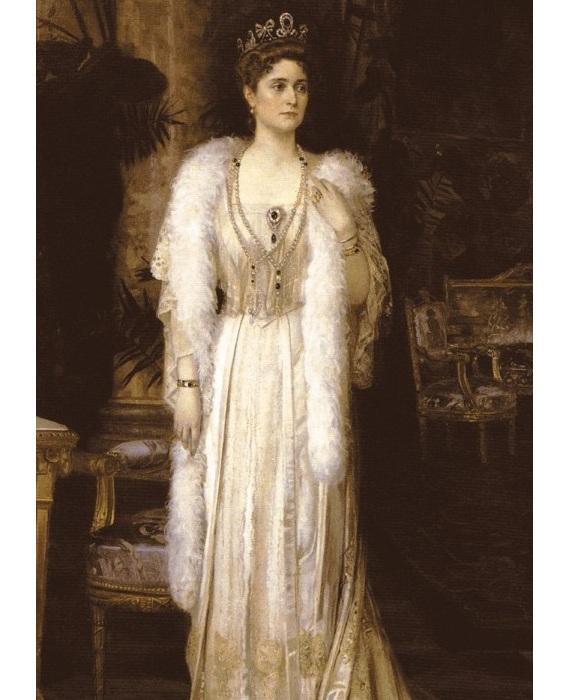 Портрет императрицы Александры Федоровны. (1907 год). Автор: Николай Бодаревский.
