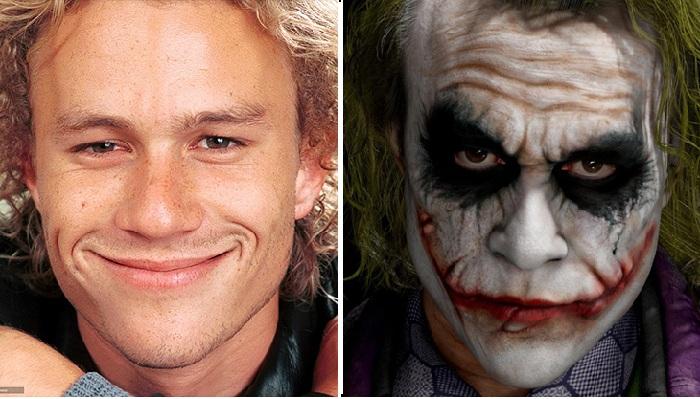 Хит Леджер. / Актер в роли Джокера.