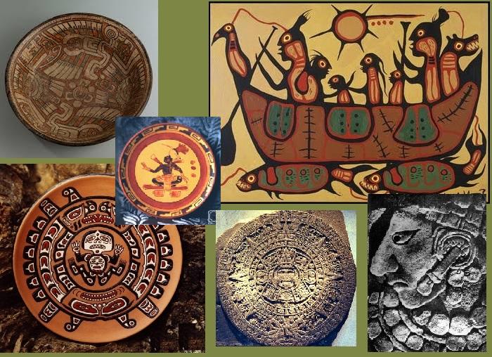 Творчество коренных жителей Америки.