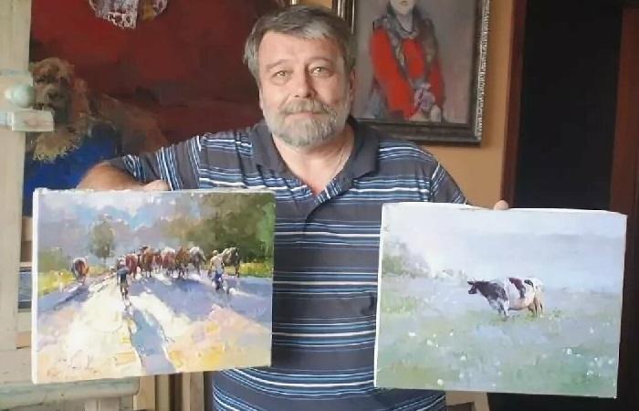 Алексей Зайцев - московский художник-импрессионист.