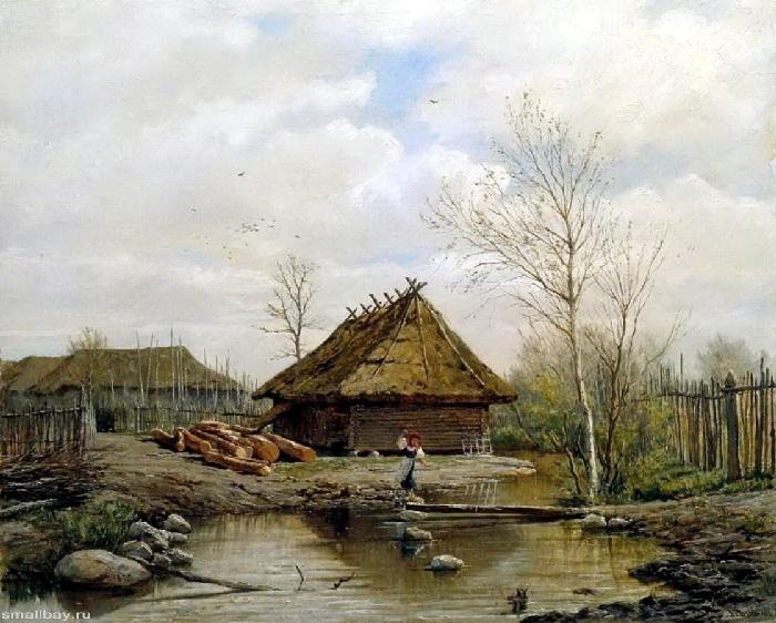 Пейзажная живопись Павла Брюллова.