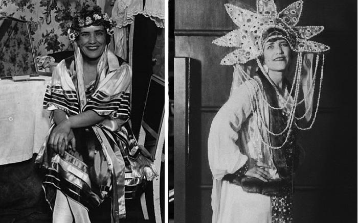 Матрёна Распутина - танцовщица парижского кабаре.