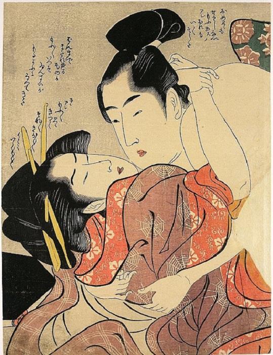 «Сюнга: откровенное искусство Японии».