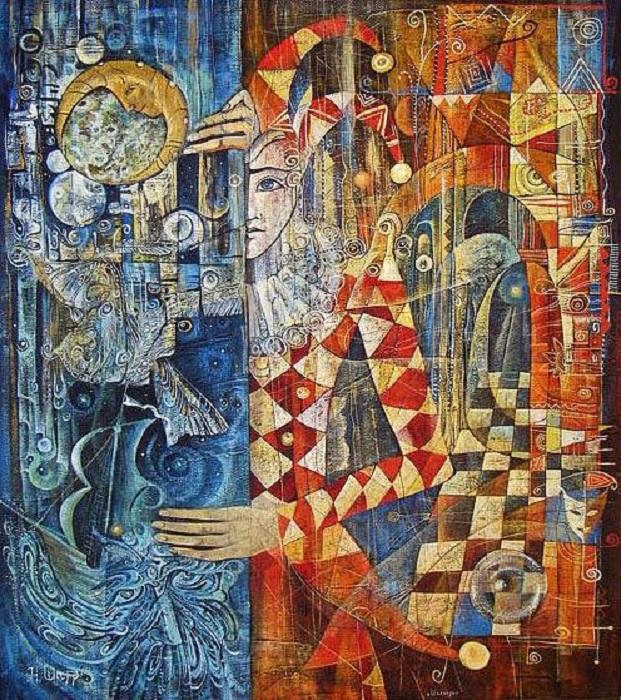 Шахматы. Ожидание хода. Метареализм от Наталии Шатровой.