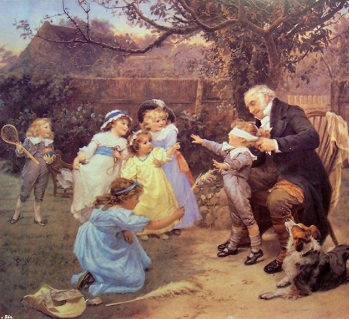 Фредерик Морган (англичанин, 1847-1927).