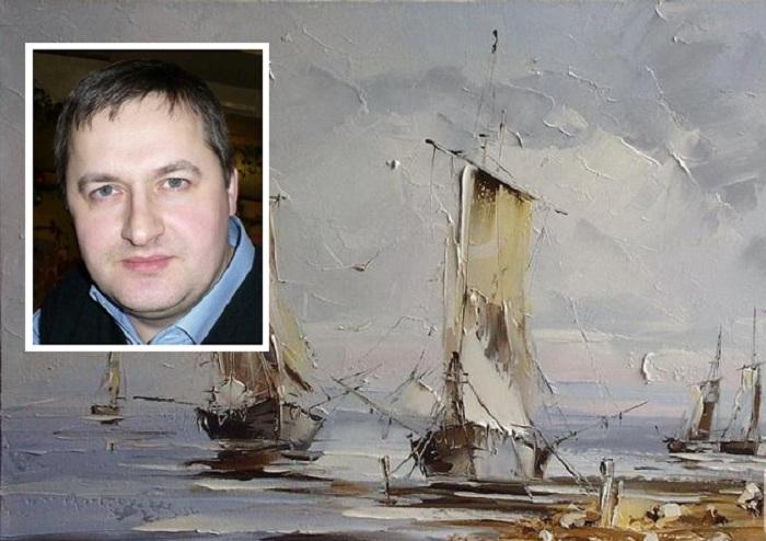 Юрий Хованский - современный белорусский художник.