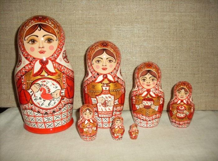 Палащельская (мезенская) роспись.