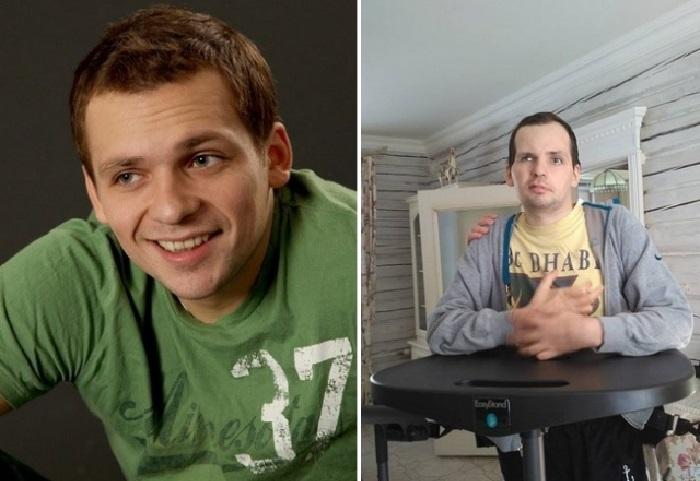 Актер Алексей Янин до и после.