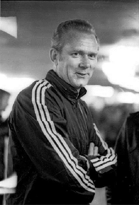 Валерий Лобановский - тренер *Динамо*.