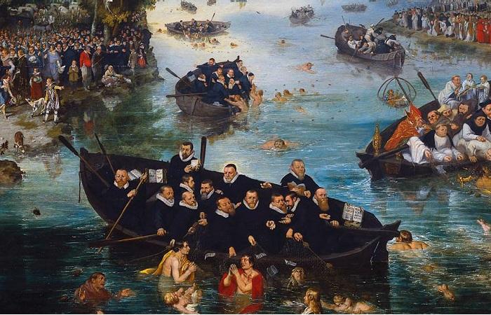 «Ловля душ»: Загадка грандиозного полотна Адриана ван де Венне, понятного лишь посвящённым.